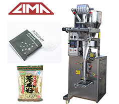 Plastic bag packing machine