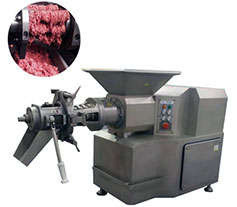 deboner machine for meats